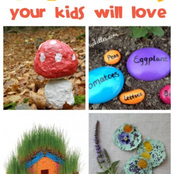 Find tons of fun garden crafts for the kids at @funfamilycrafts!