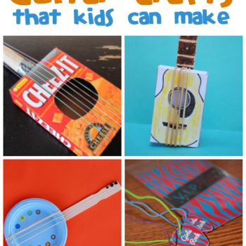 Guitar Crafts for Kids