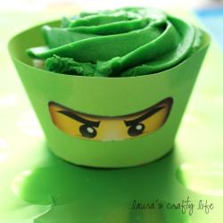 Ninjago Cupcake Liners