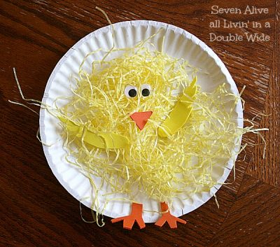 Paper Plate Spring Chickens & Paper Plate Spring Chickens | Fun Family Crafts