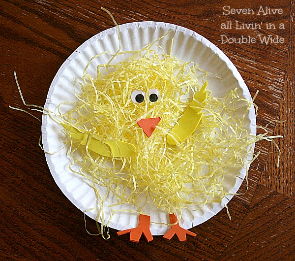 Paper Plate Spring Chickens Fun Family Crafts wwkeZhzy
