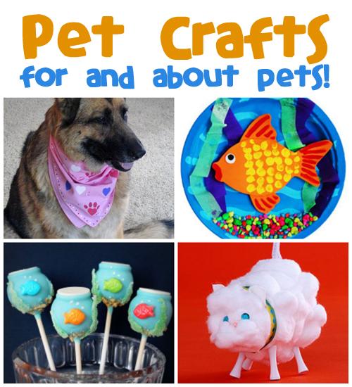 Pet Crafts Amp Recipes Fun Family Crafts