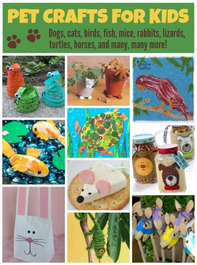 Pet Crafts And Recipes For Kids Fun Family Crafts