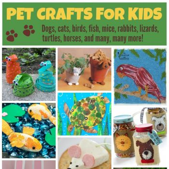Pet Crafts and Recipes for Kids