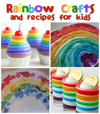 Rainbow Crafts & Recipes from @funfamilycrafts