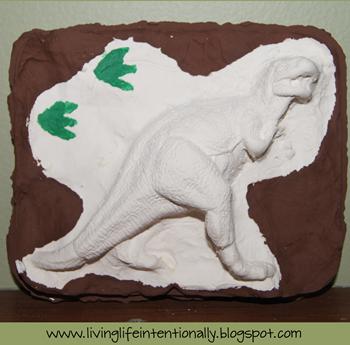 3D Dinosaur Fossil