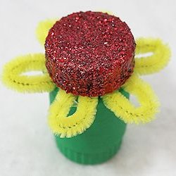 Pill Bottle Flower