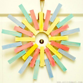 Spring Sunburst Wreath