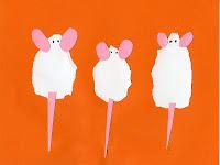 3 Torn Mice