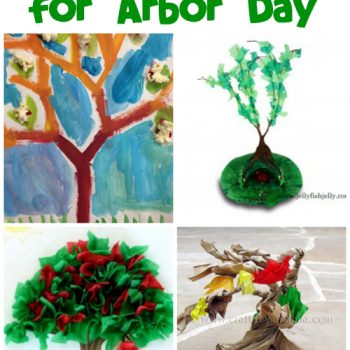 Kids' Tree Crafts for Arbor Day