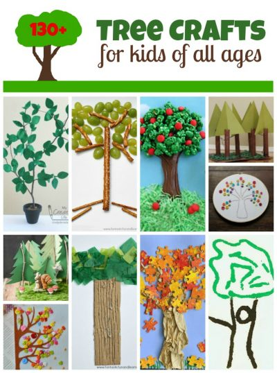 Tree Crafts for Arbor Day   Fun Family Crafts