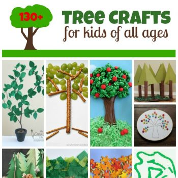 Tree Crafts for Arbor Day