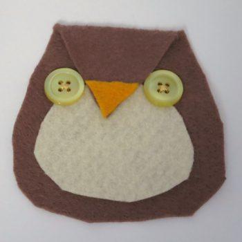 Button-Eyed Owl