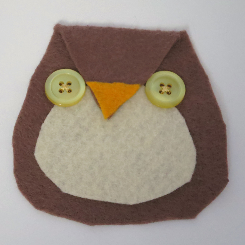 Button-Eyed Owl