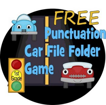 Punctuation File Folder Game