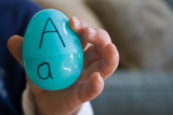 Egg Alphabet Matching