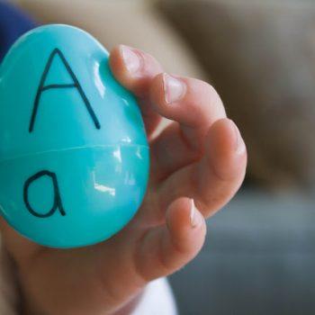 Egg Alphabet Matching