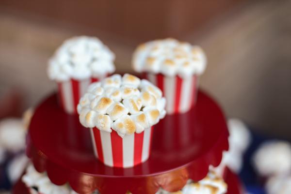 Tub of Popcorn Cupcakes