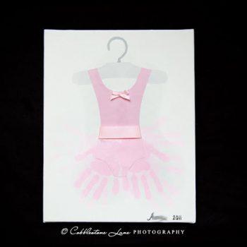 Handprint Ballerina