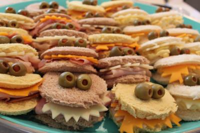 Monster Sandwiches