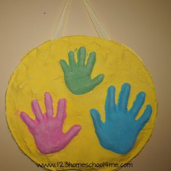 Mother's Day 3D Hand Art Keepsake Craft