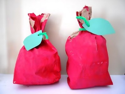Paper Bag Apples