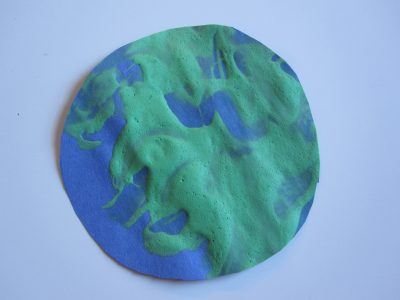 Puffy Paint Earth