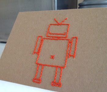 Robot Stitching Template
