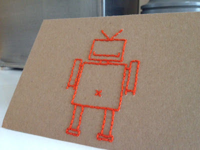 Robot Stitching Template