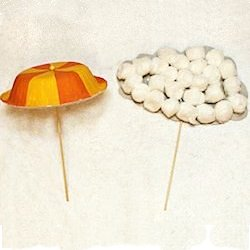 Umbrella and Rain Cloud Crafts