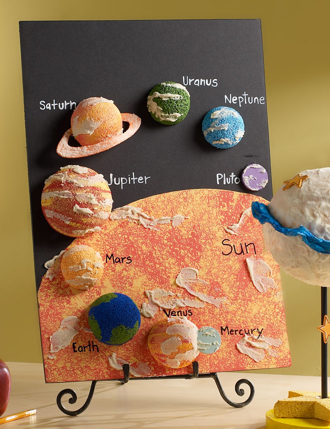 Fun solar system projects page 2 pics about space for Solar project for kids