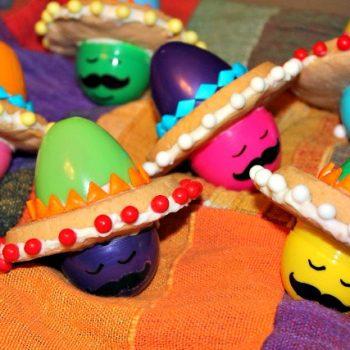 Sombrero Hat Egghead Cookies