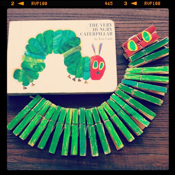 Clothespin Caterpillar Craft  sc 1 st  Fun Family Crafts & very hungry caterpillar Archives | Fun Family Crafts