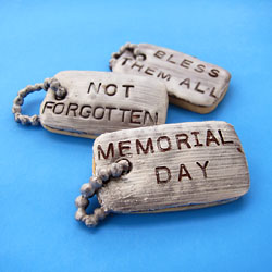 Dog Tag Cookies