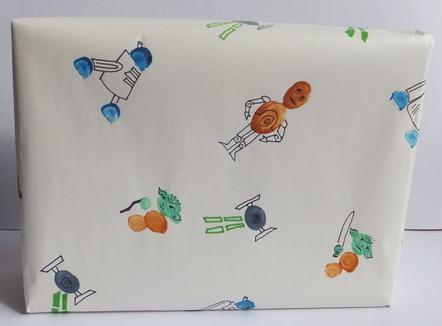 1-starwars-gift-wrap & 1-starwars-gift-wrap | Fun Family Crafts