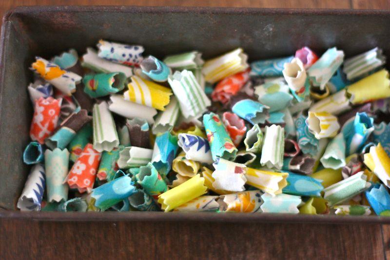Make Fabric Beads