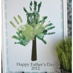 Father's Day Handprint Tree Printable
