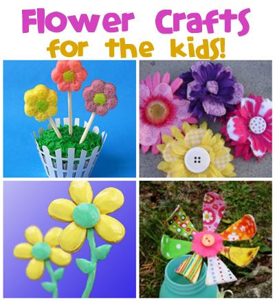 Flower Crafts & Recipes
