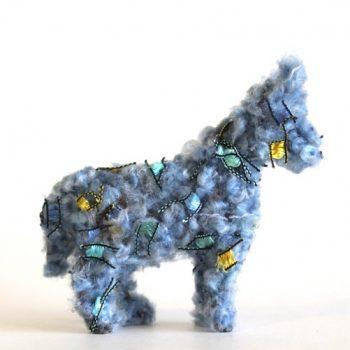 Fuzzy Plastic Animals