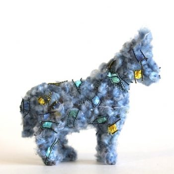 Fuzzy Plastic Animals