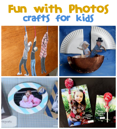 Kid's Crafts with Photos