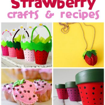 Strawberry Crafts & Recipes