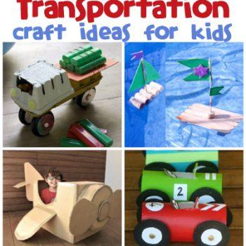 Transportation Craft Ideas