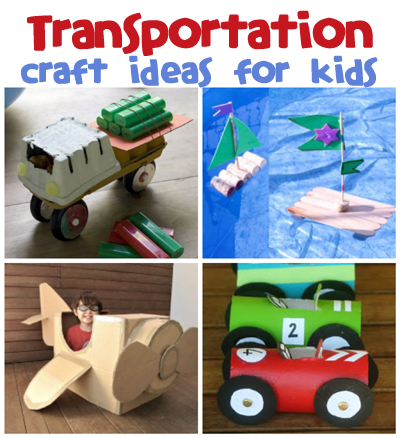 Transportation craft ideas fun family crafts for Transportation crafts for preschoolers