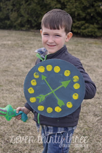 how to make a cardboard sword and shield