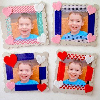 Chipboard Photo Frames