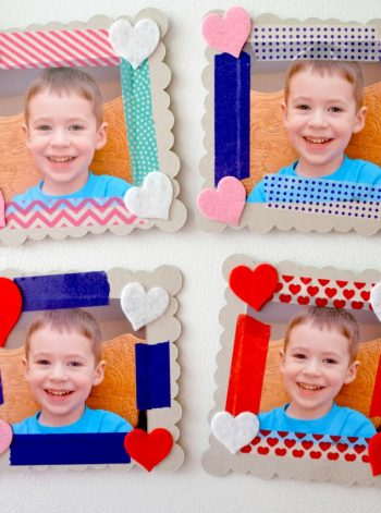 Chipboard Photo Frames