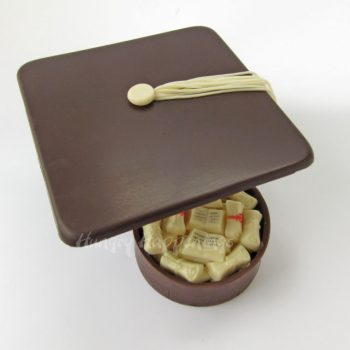 Chocolate Graduation Cap Boxes