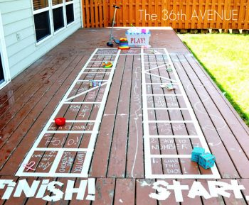 Turn Your Deck into a Board Game