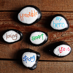 Hero Stones for Dad
